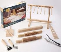 Fábrica de massas de macarrão set pasta com 9 peças Eppicotispai -