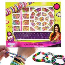 Fábrica de pulseiras elástico loom bands - Company Kids