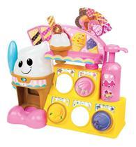 Fabrica  Sorvete Play Set Sorveteria Infantil Brinquedo - Winfun