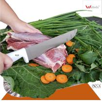 Faca para carne 10' profissional  casa ou açougue cabo branco wx4774 - Wellmix