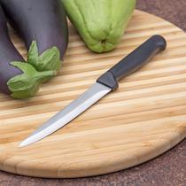 Faca para Legumes 12cm Preta - Lumina -