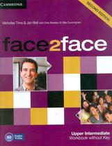 Face2face upper intermediate wb without key - 2nd ed - Cambridge university