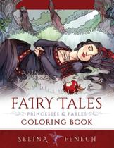 Fairy Tales, Princesses, and Fables Coloring Book - Fairies And Fantasy Pty Ltd -