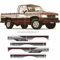 Faixa Adesivo D20 Cabine Simples Com Faixa Chevrolet - 1Linha