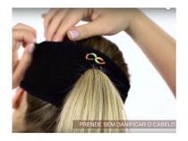 Faixa Coolhair Testeira Com Abertura Para Cabelo Ciacool Run -