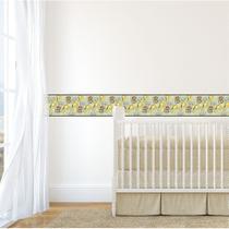 Faixa de Parede Safari Baby para Quarto Infantil 20mx10cm - Quartinhos