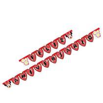 Faixa Feliz Aniversário R 95 Red Minnie com 1und - Regina