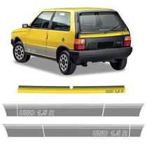Faixa Fiat Uno 1.5 R Adesivo Decorativo Lateral E Traseiro - Sportinox