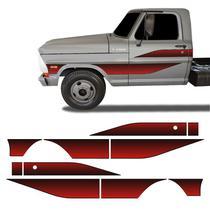 Faixa Ford F-4000 1989 1990 1991 1992 Adesivo Lateral Portas - Sportinox