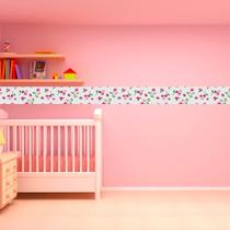 Faixa Infantil Flor Rosa - Casa Harmonia