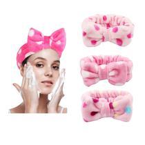 Faixa Laço Maquiagem Toalha Makeup Skin Care Tiara Cabelo - Interponte
