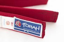 Faixa Torah Plus Para Kimonos - Artes Marciais - Adulto A3 Vermelha -