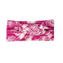 Faixa Trança Tie Dye Rosa Gumii -