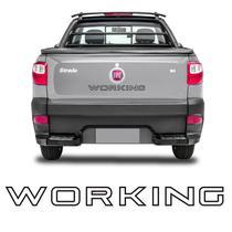 Faixa Working Strada 2013 14 15 2016 Adesivo Tampa Traseira - Sportinox