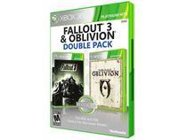 Fallout 3 e The Elder Scrolls IV: Oblivion - para Xbox 360 - Bethesda