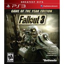 Fallout 3: Game Of The Year - Ps3 - Sony