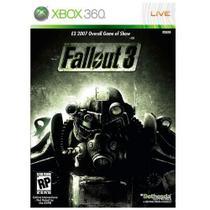 Fallout 3 - Xbox 360 - (Japonês) - Ubisoft