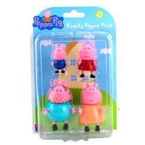 Família Peppa - 4 figuras - Sunny -