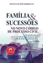 Família & Sucessões No Novo Código de Processo Civil - Editora Imperium