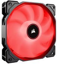 Fan para gabinete série air af140 led pack ventilador único de 140mm vermelho - co-9050086-ww - Corsair