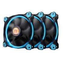 Fan TT Riing 12 LED Radiator Blue 3 PACK - Thermaltake