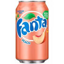 Fanta importada peach 355ml -