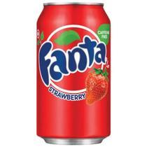 Fanta importada strawberry 355ml -