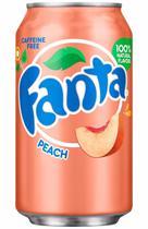 Fanta Peach Pêssego 355ml -