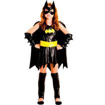 Fantasia Batgirl Infantil Luxo Original DC Comics - Sulamericana