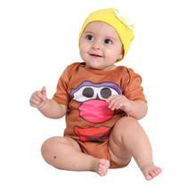 Fantasia Body Cabeça de Batata Bebê Feminino -
