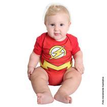 Fantasia Body The Flash Bebê Verão - Liga Da Justiça