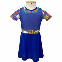 Fantasia Chiquititas Infantil Vestido Com Nf 2 A 8 Anos - Fantasias Carol Ef