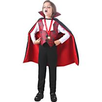 Fantasia Conde Dracula Infantil - Halloween -