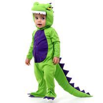 Fantasia Dinossauro Verde Bebê - Sula - Arca De Noé