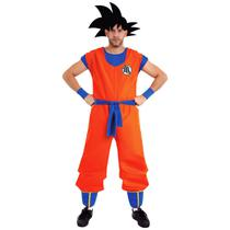 Fantasia dragon ball goku adulto luxo original - Sulamericana