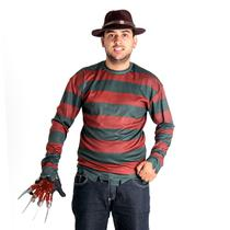Fantasia Freddy Krueger Adulto - A nightmare - freddy