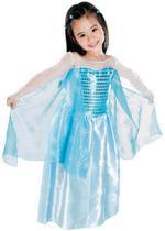 Fantasia Frozen Infantil - Princesa Elsa - Brink model