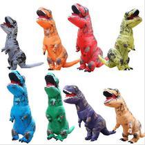 Fantasia Inflável Dinossauro Tiranossauro T Rex - Adulto - Dangos