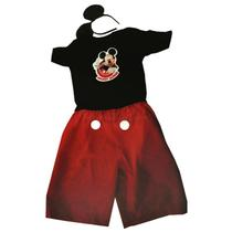 Fantasia Mickey Mouse Curta Infantil com orelhas Rubies - Global fantasias