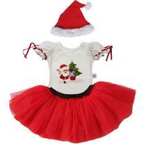 Fantasia Papai Noel - Natal - Quimera Kids -