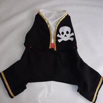 Fantasia Pirata para cachorro e gato Ninelai -