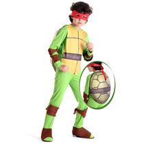 Fantasia Raphael Tartarugas Ninjas - As tartarugas ninjas