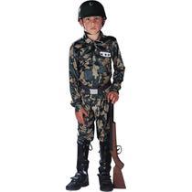 Fantasia Soldado Militar Infantil - Police
