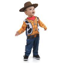 Fantasia Woody Bebê - Disney - Toy Story -