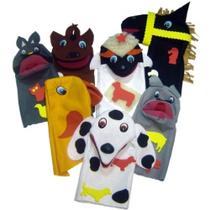 Fantoche Animais Domésticos com 7 Personagens - Carlu -
