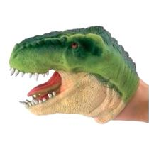 Fantoche de Borracha Dinossauro - Verde - DTC -