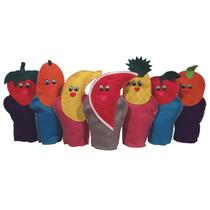 Fantoches - Frutas - 7 Personagens - Ciabrink -