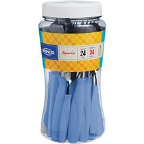 Faqueiro 24 Peças Brinox Itaparica 6000/722 Azul Fog -