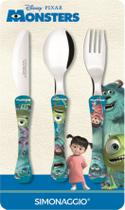 Faqueiro com 3 peças - Monsters -  kids - Simonaggio