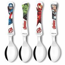 Faqueiro com 4 colheres - Avengers - Vingadores - Simonaggio